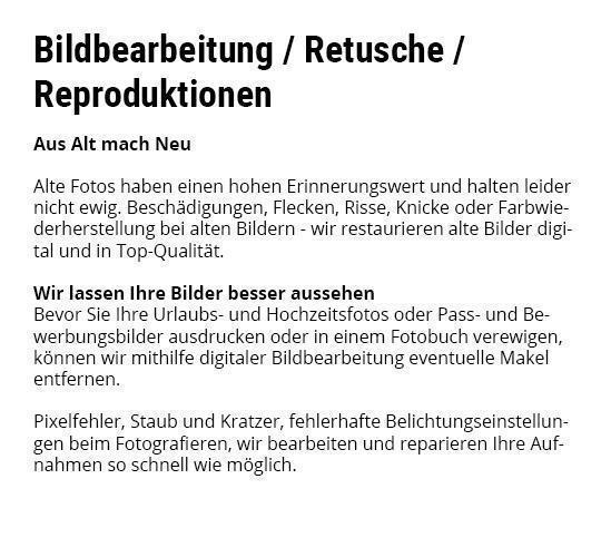 Bildbearbeitung in  Hüffenhardt