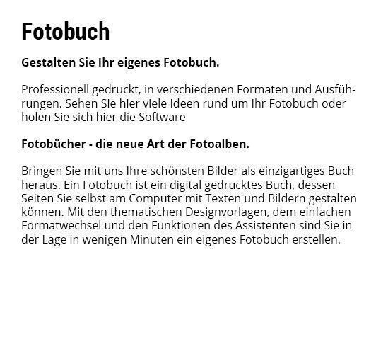 Fotobücher für Mosbach